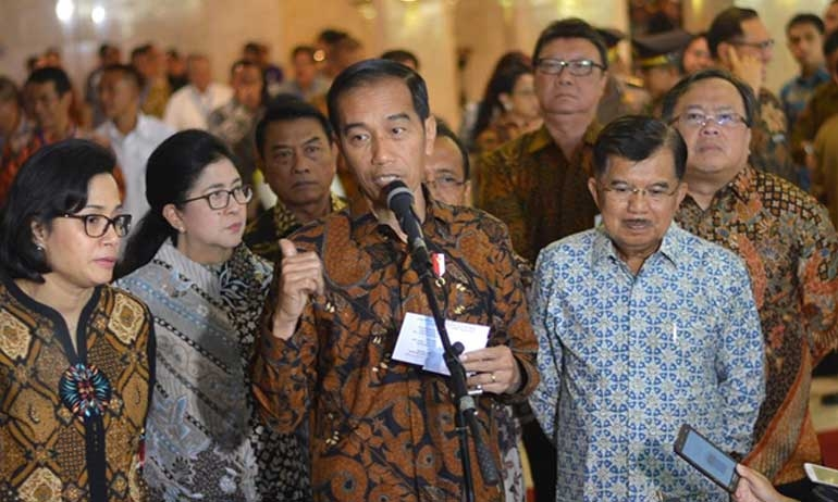 Jokowi vows to prioritize structural reforms in 'second term'